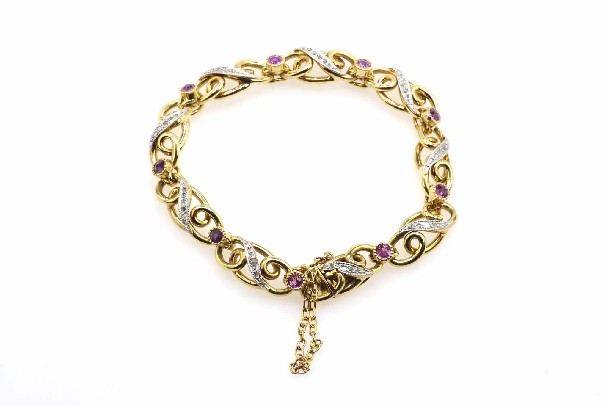 bracelet vintage d'occasion