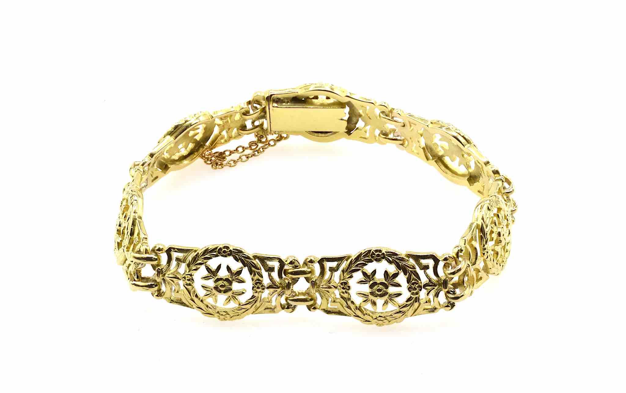 bracelet or massif 18k