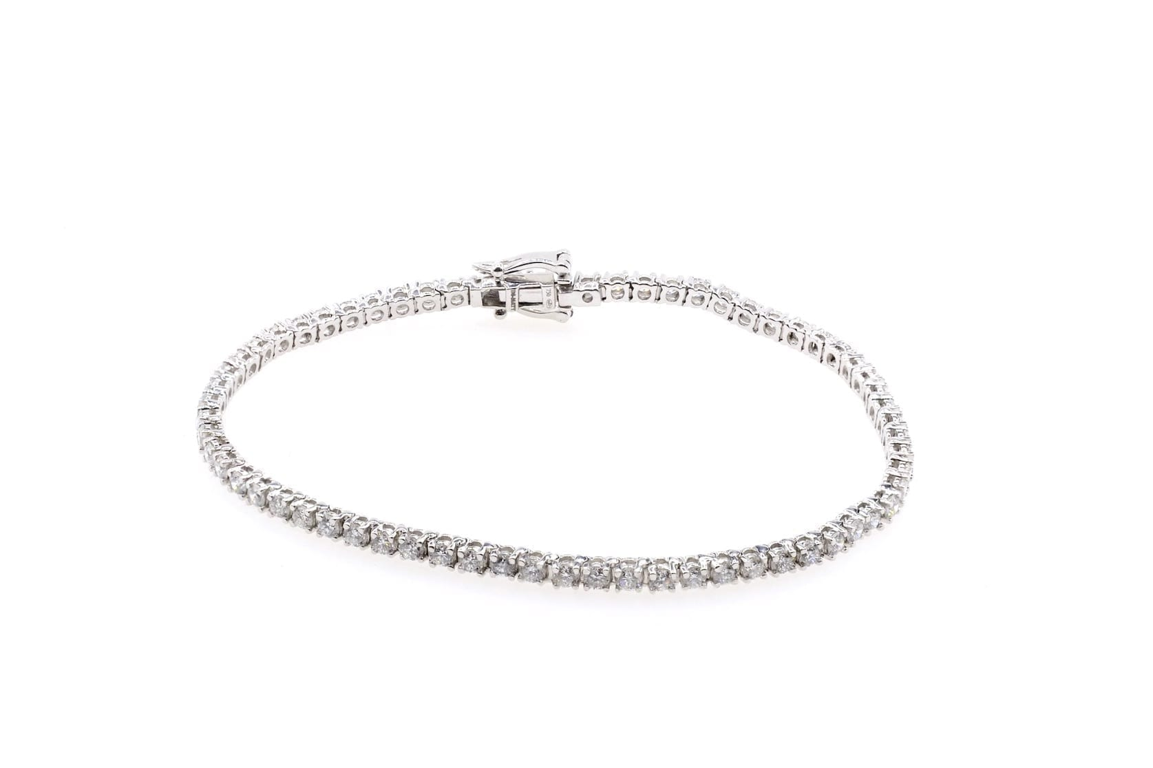 bracelet tour diamants