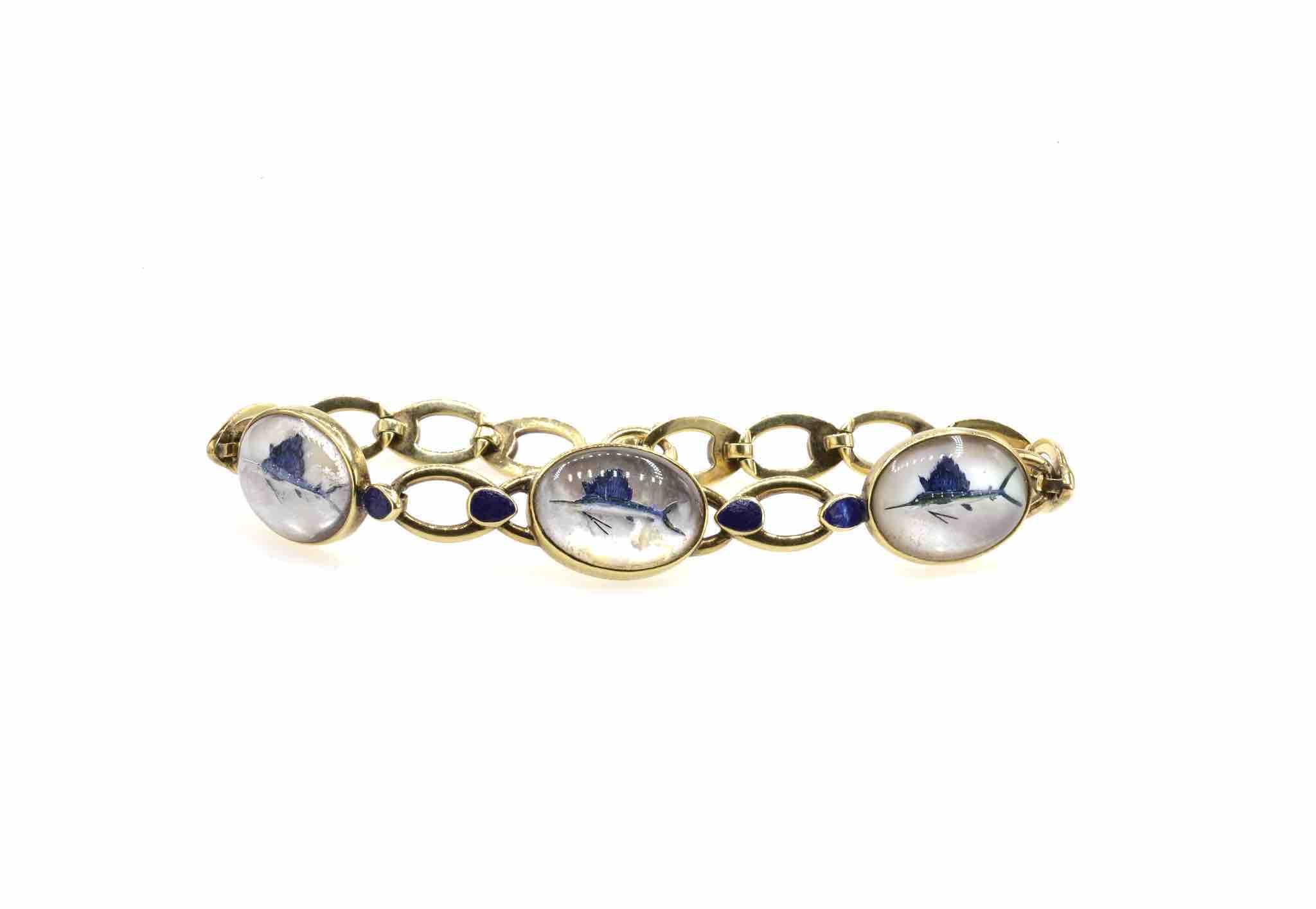 bracelet animaux vintage