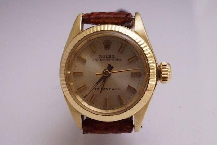Rolex en or 18k