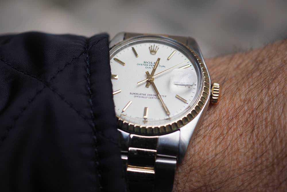l'achat d'une montre