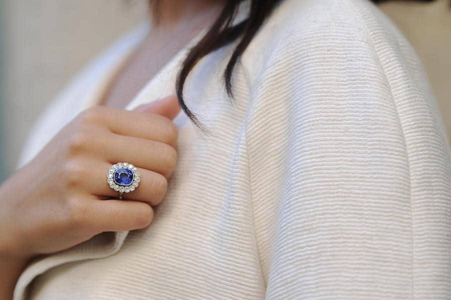bagues diamants anciennes