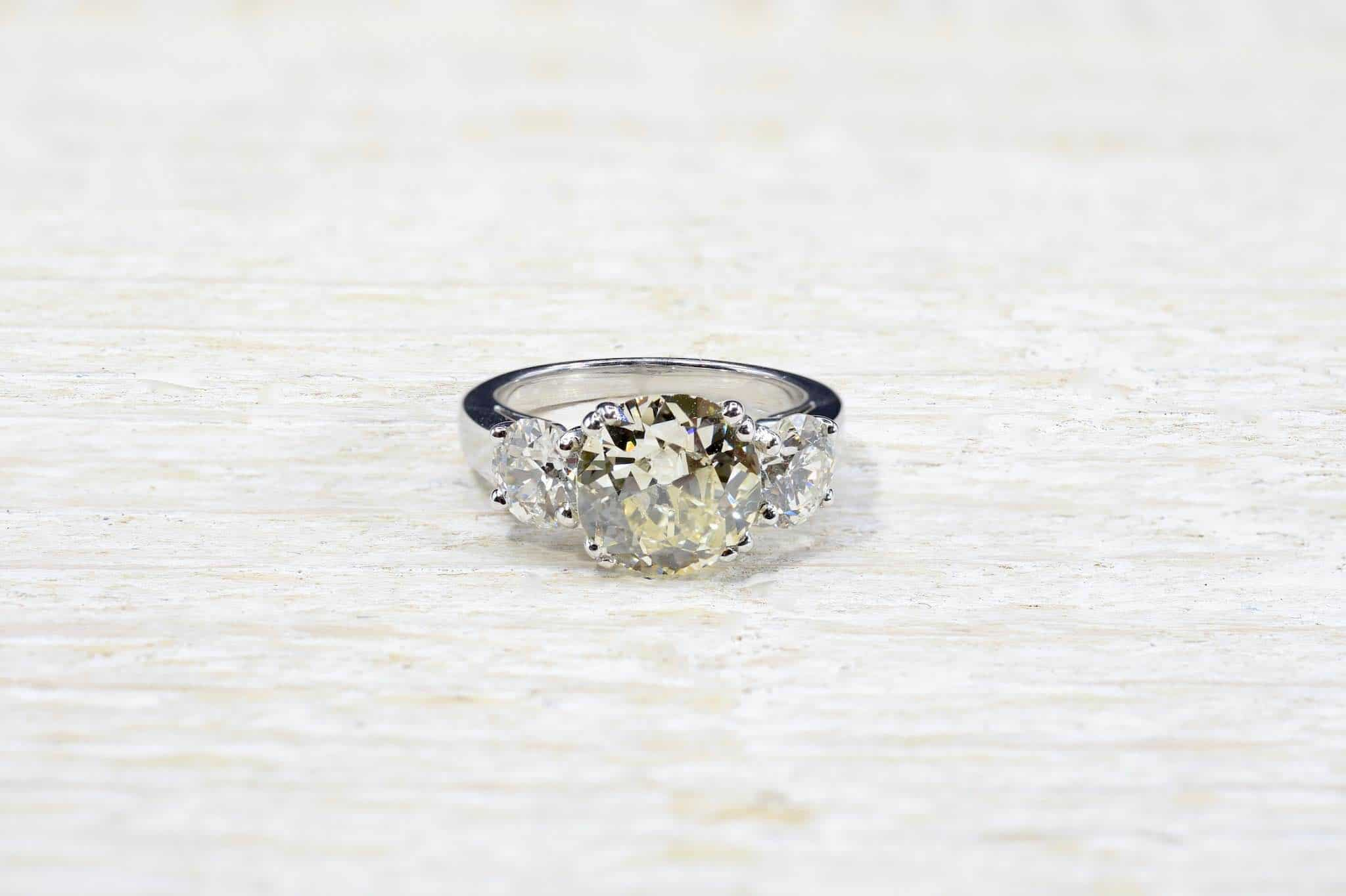 solitaire diamant d'occasion