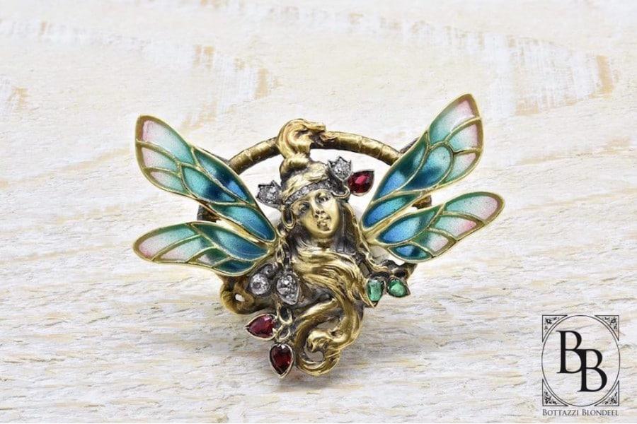 bijoux art nouveau,bijoux belle époque