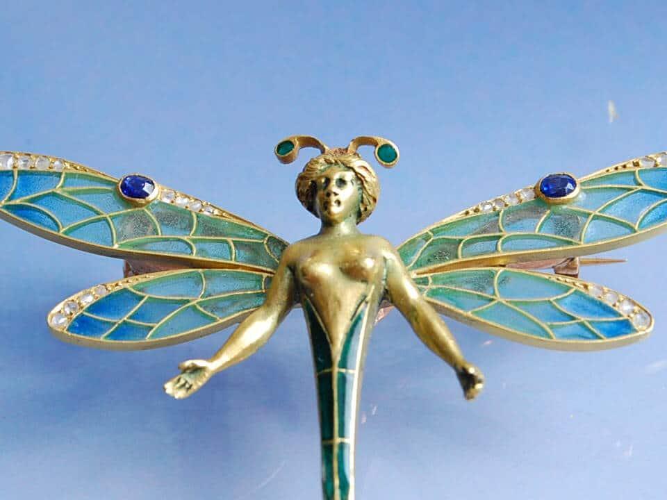 bijoux art nouveau