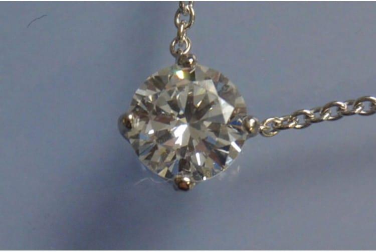 pendentif diamant art deco
