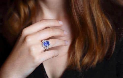 bague saphir Ceylan diamants