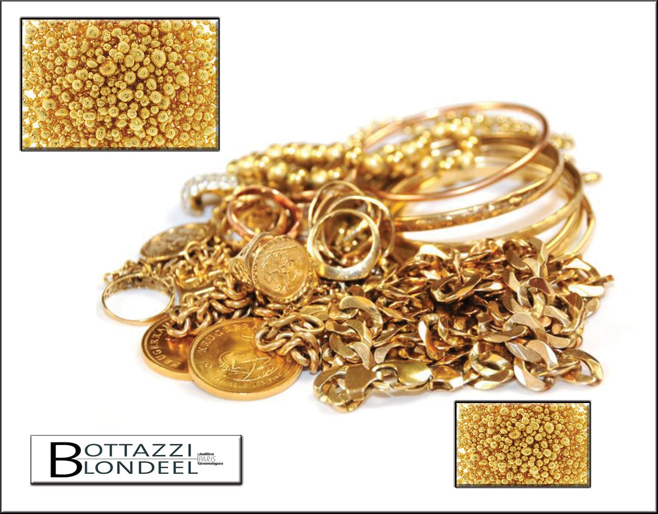 Achat or, vente or, déchets d'or, rachat bijoux or