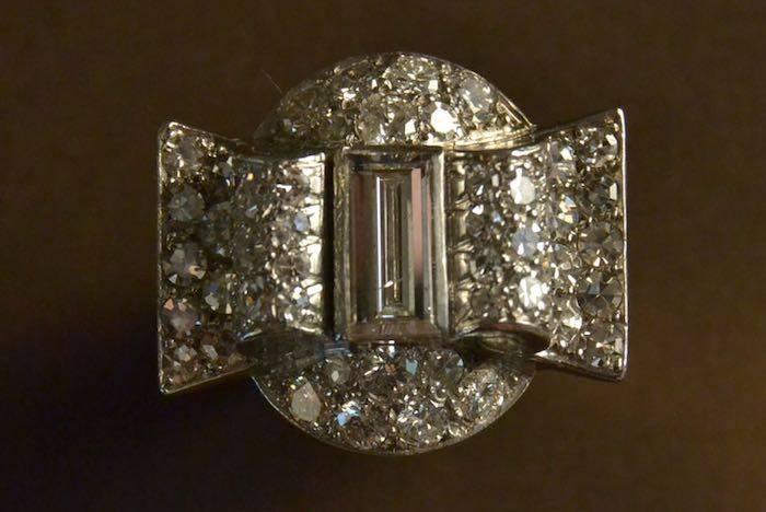 achat bague diamants tank