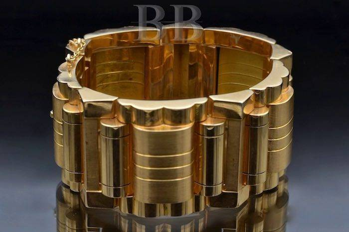 bracelet tank or massif