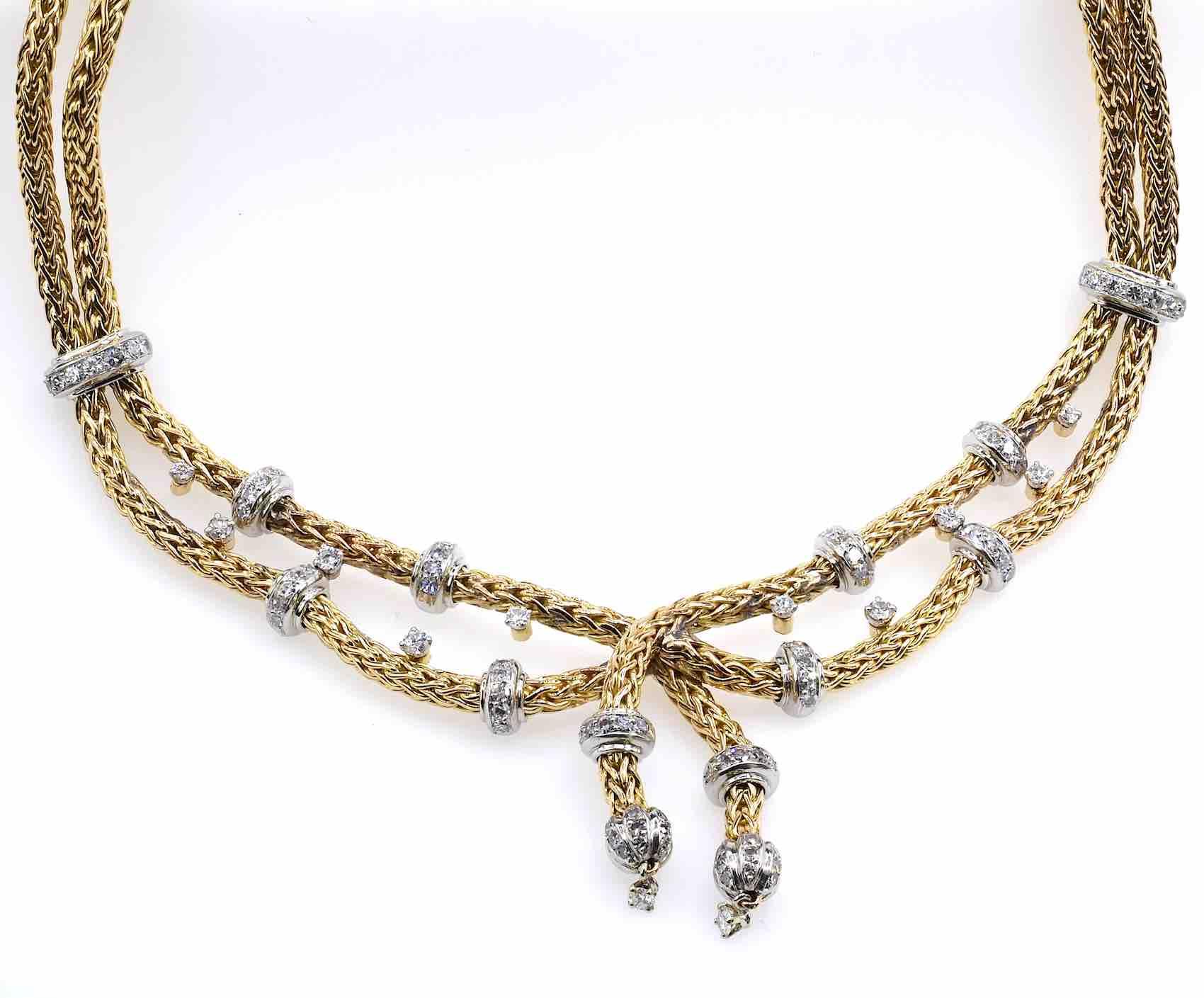achat Collier Mauboussin diamants