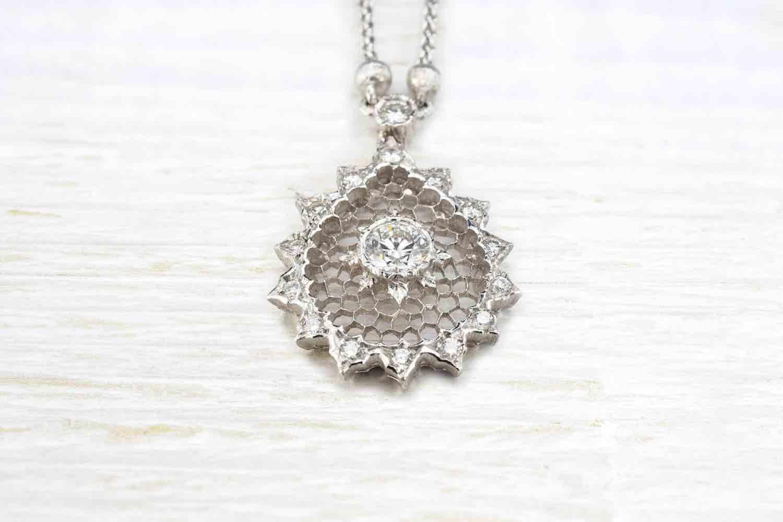 Collier et pendentif Buccellati diamant