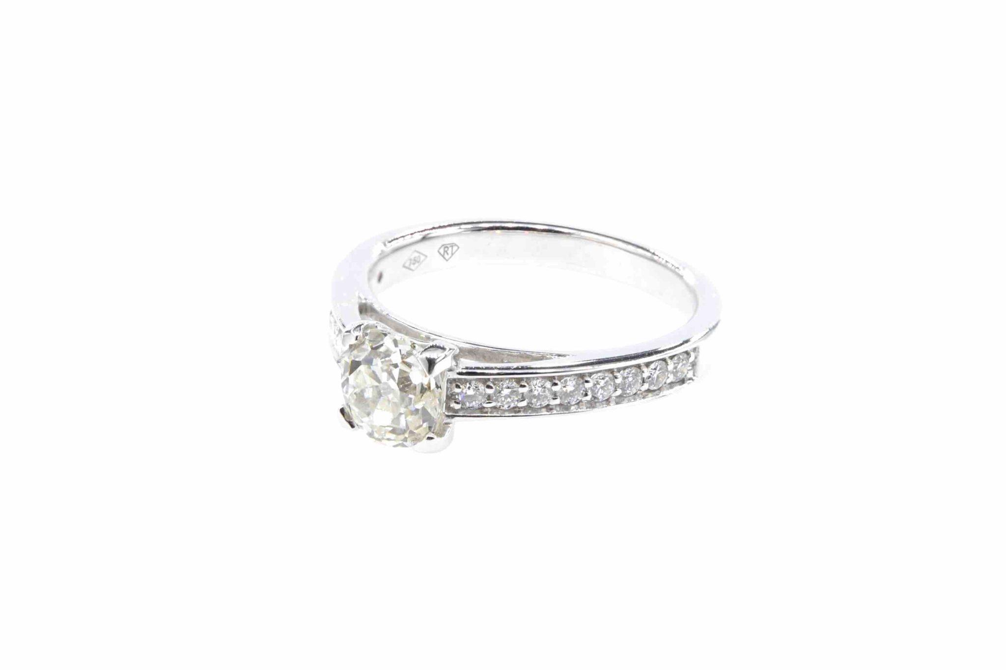 rachat diamant de taille brillant ancien