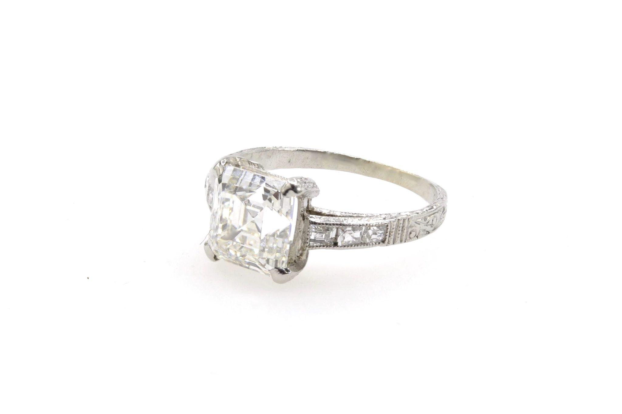 revendre diamant de taille émeraude
