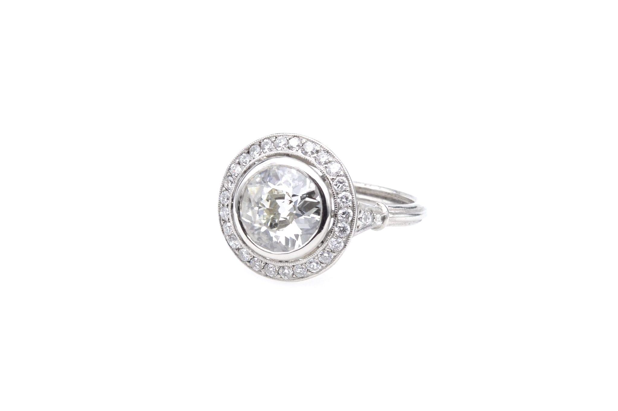 rachat bague diamant demi taille