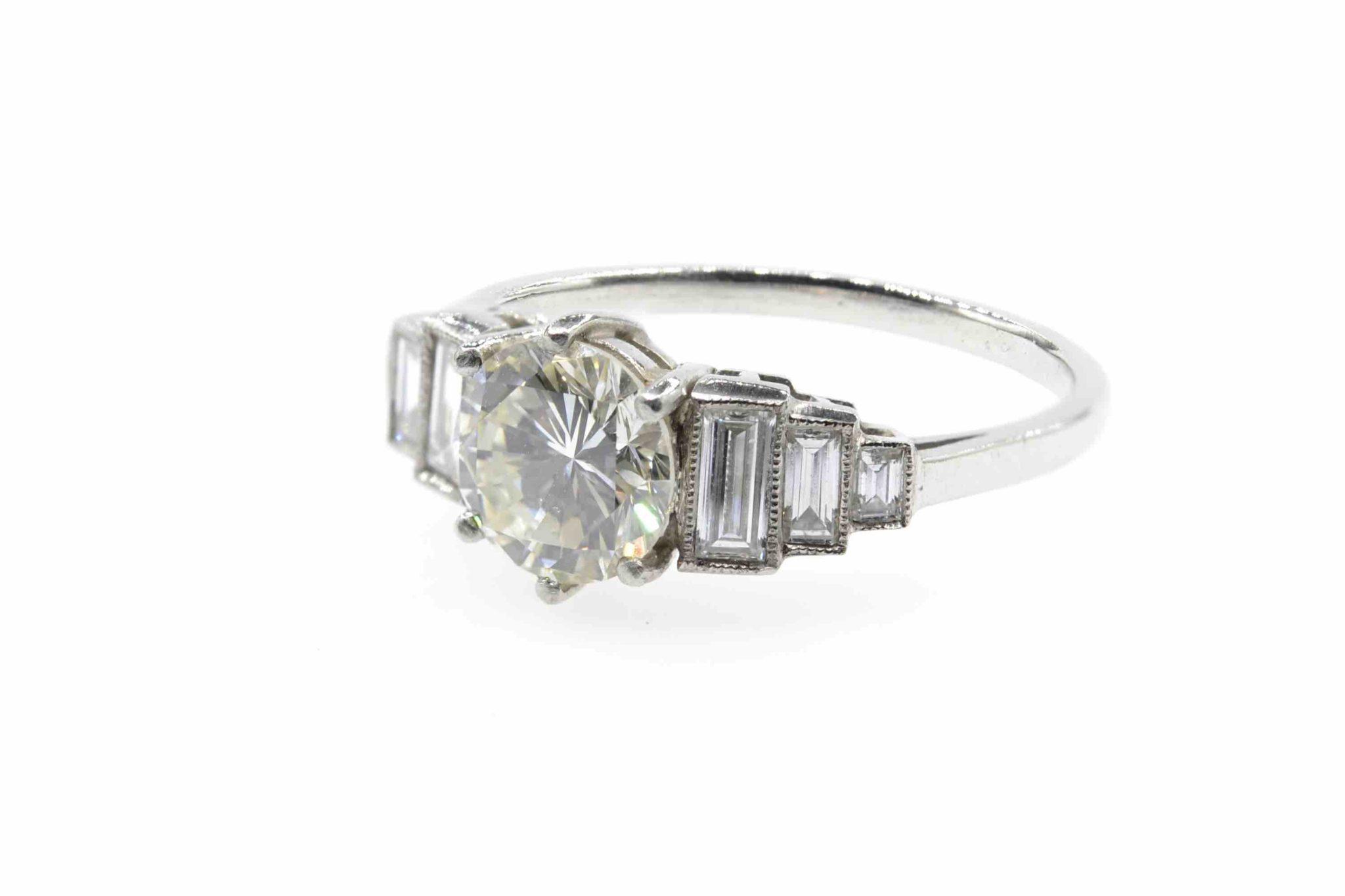 rachat diamant vintage de taille brillant