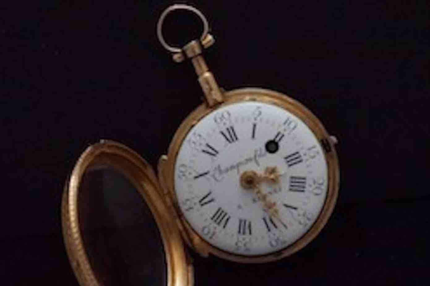 achat montre a gousset en or XIXeme