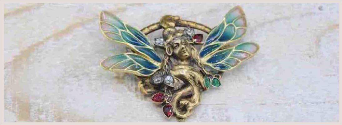 Pendentif Art Nouveau