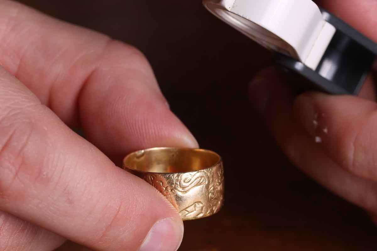 achat bague ancienne en or