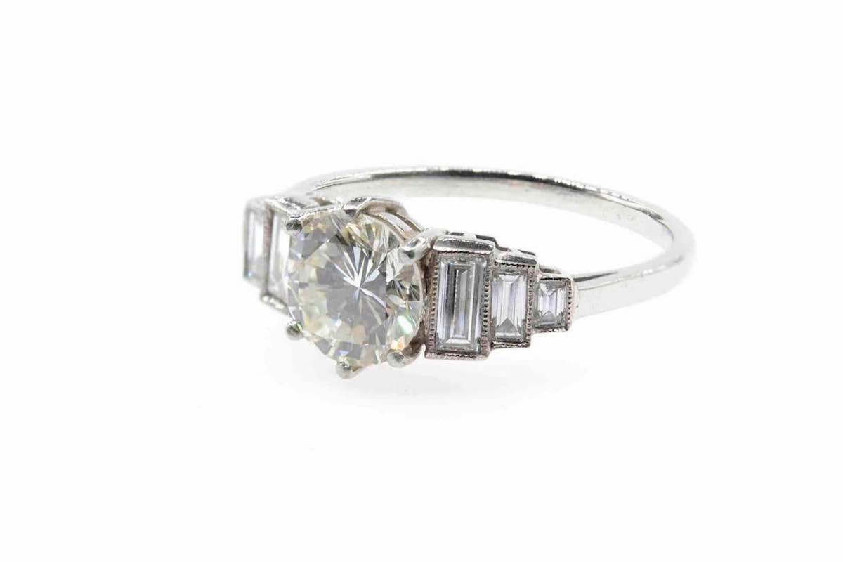 bague fiançailles diamant
