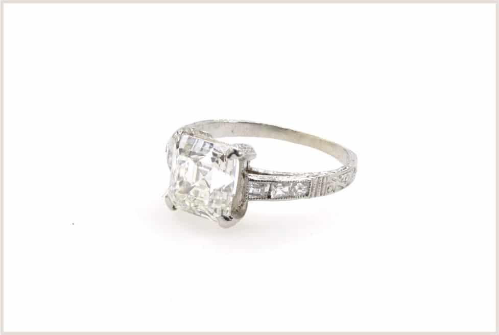 achat diamant taille emeraude