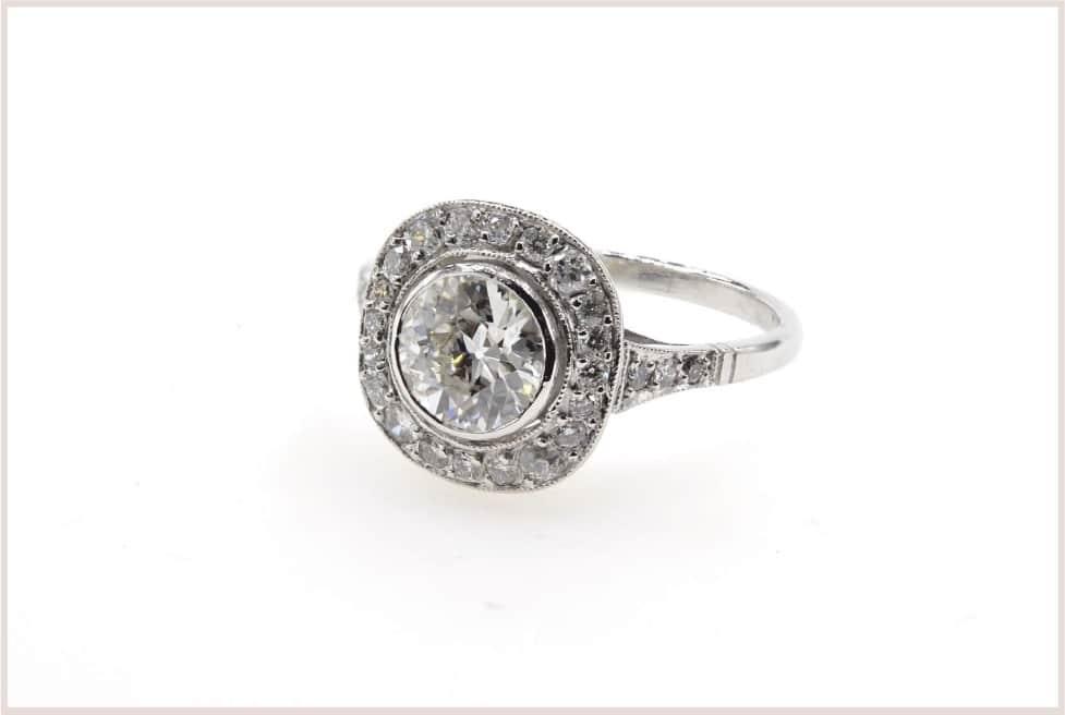 achat diamant taille brillant ancienne