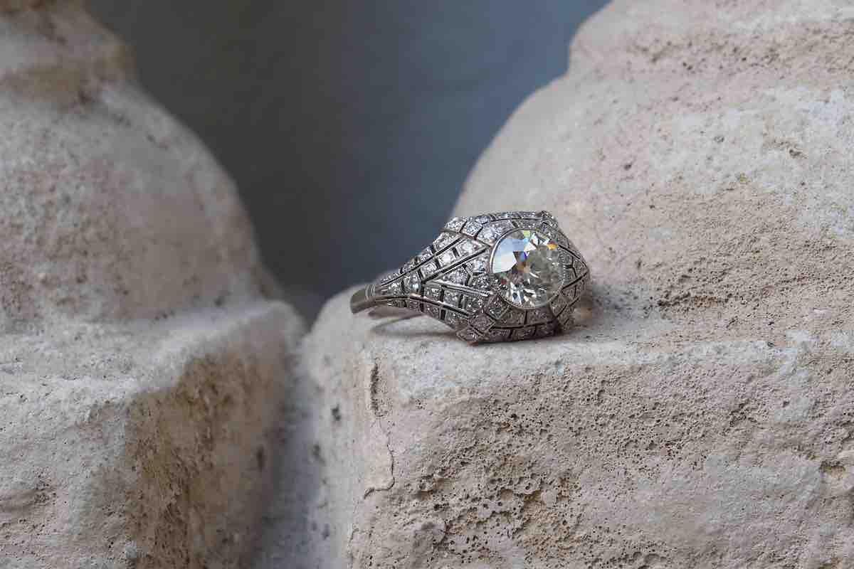 rachat bague dome diamants