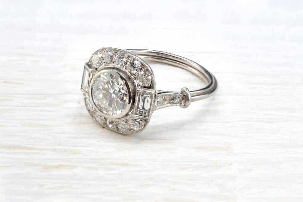 achat bague de fiançailles diamants