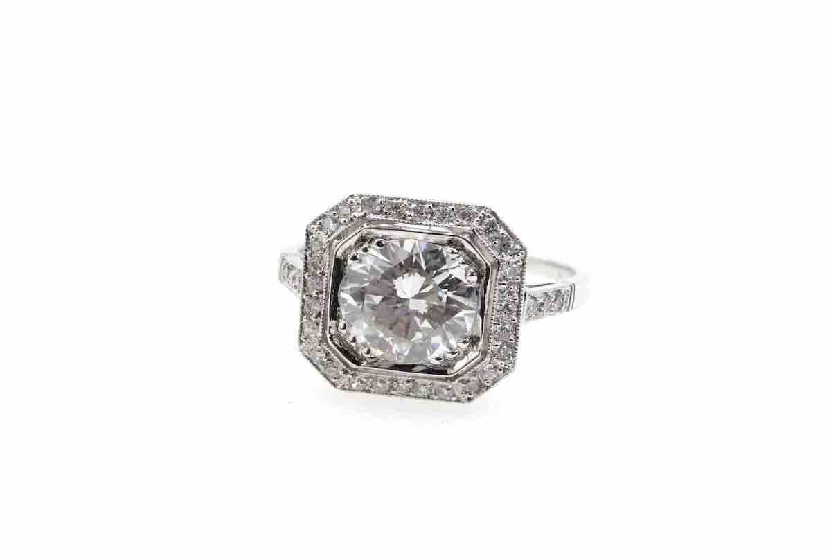 bague mariage avec diamants