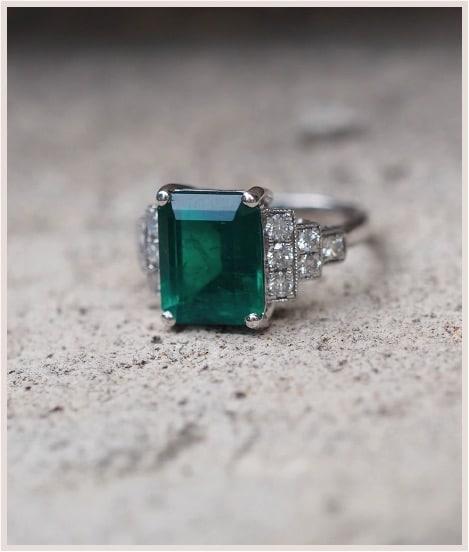 rachat de bijoux émeraude