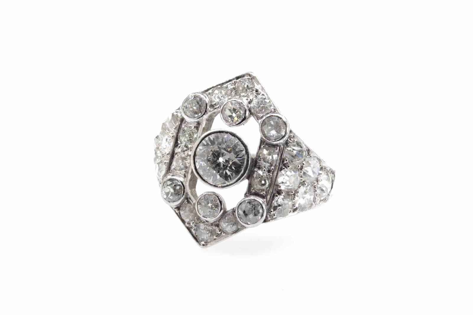 rachat achat de bague ancienne diamants