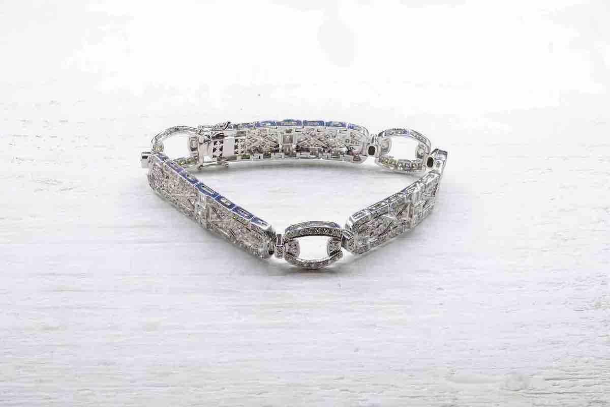 bracelet diamants antiques