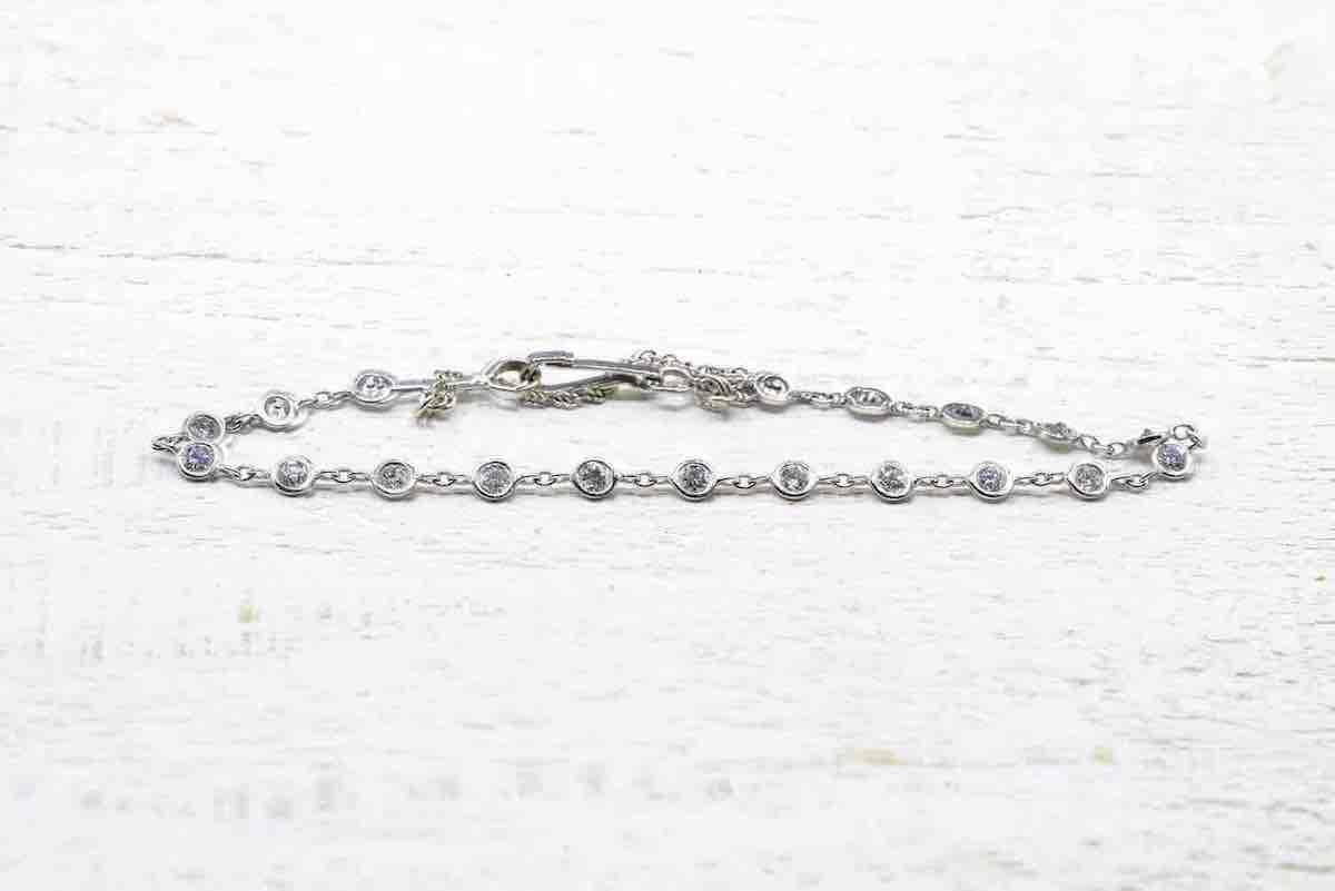 bracelet diamants femme