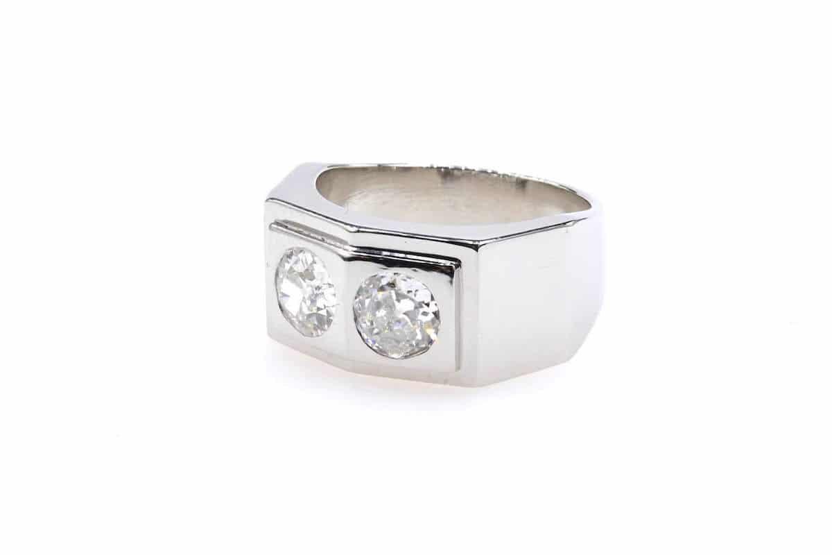 bague diamants en vente a paris