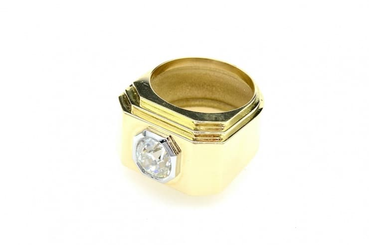 bague ancienne or