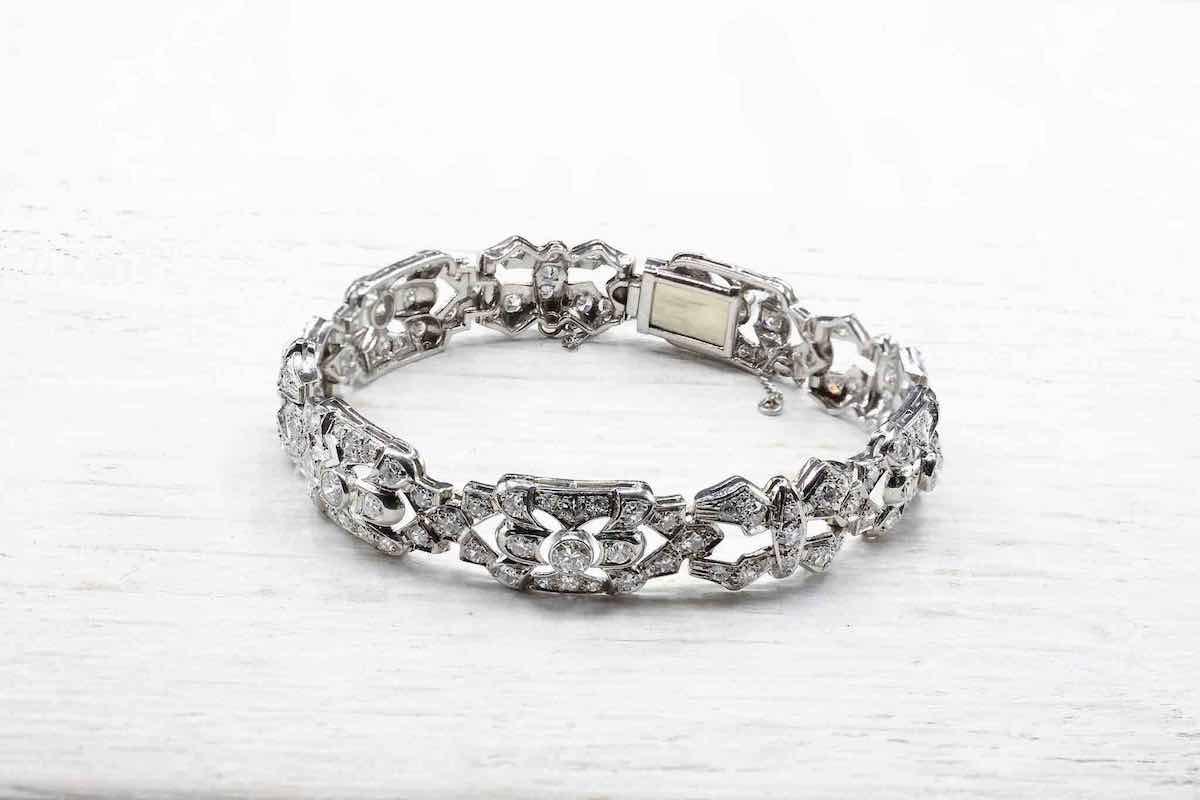 rachat bracelet ancien diamants
