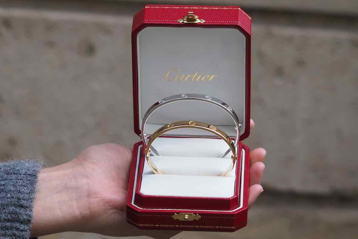 achat bracelet love cartier