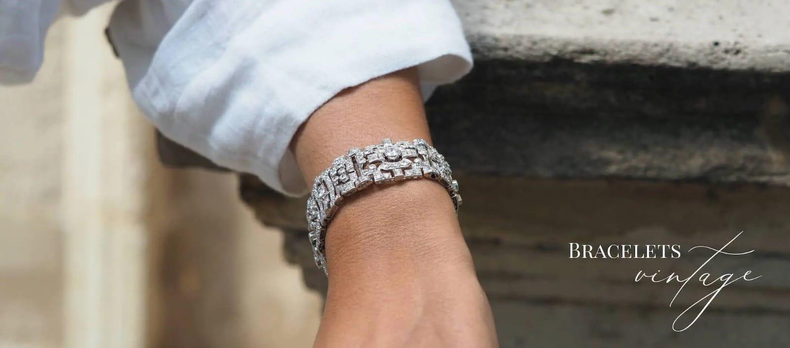 achat de bracelet diamants