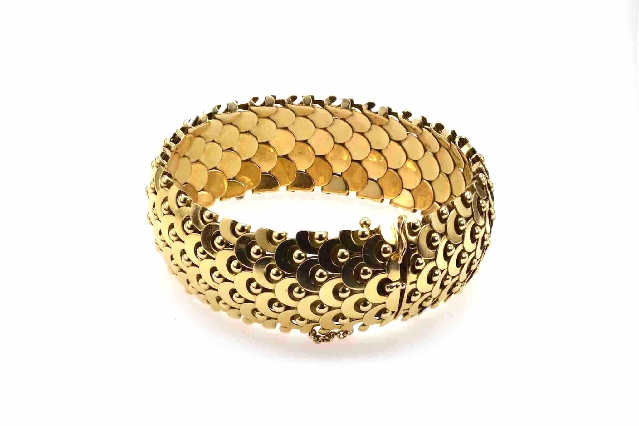 rachat bracelet or massif 18k