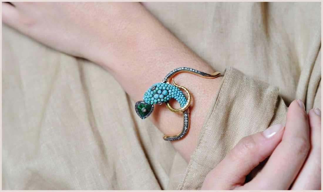 bijoux serpent 19e