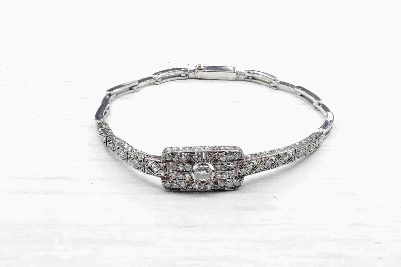 bracelet tout diamants