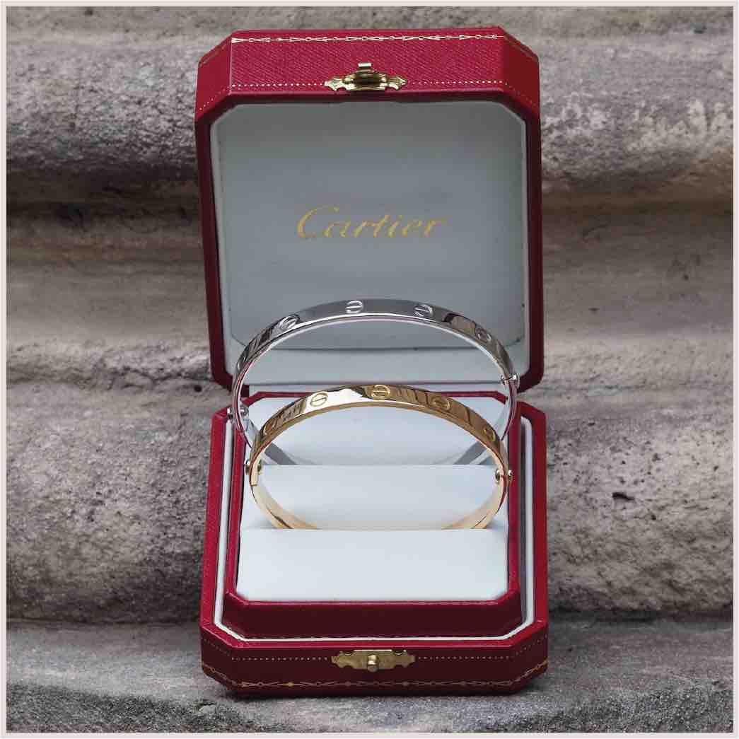 bracelet love cartier d'occasion