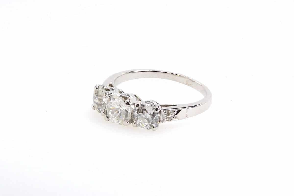 diamants or blanc