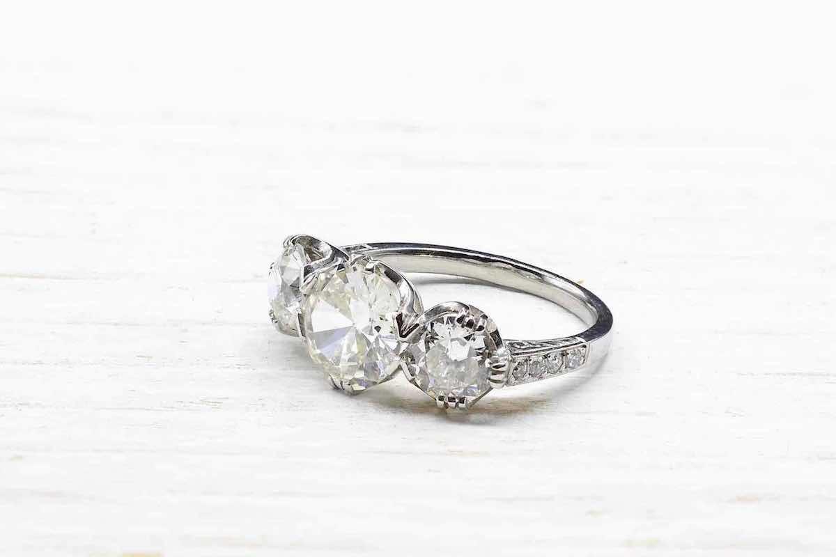 solitaire trois diamants