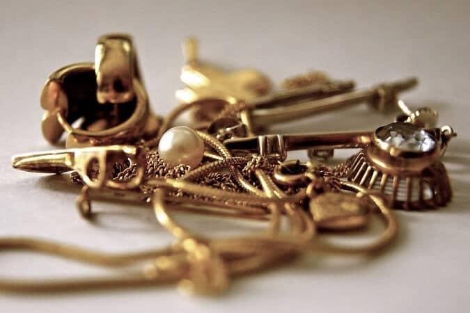 broutilles et dechets d'or