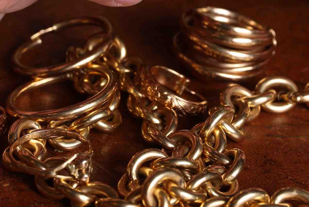 déchets d'or
