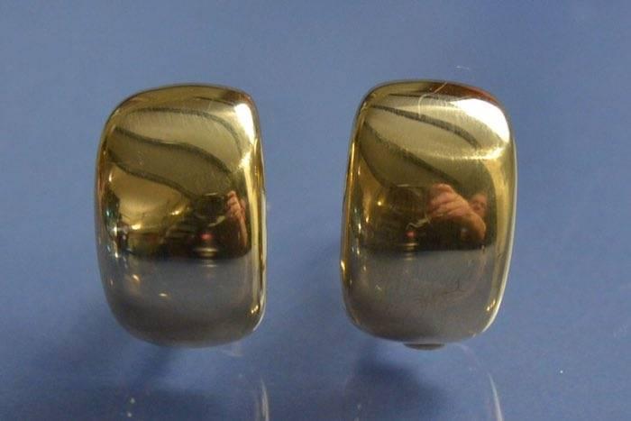Boucles d'oreilles creole cartier
