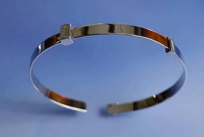 Bracelet Dior diamant baguette