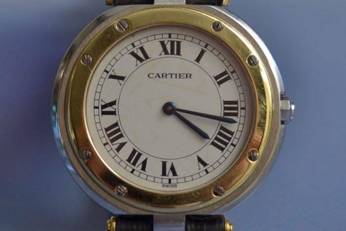 Montre Santos signée Cartier